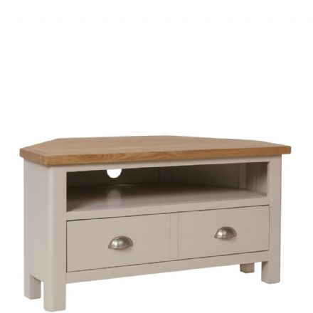 Richmond Painted Oak Corner TV Unit